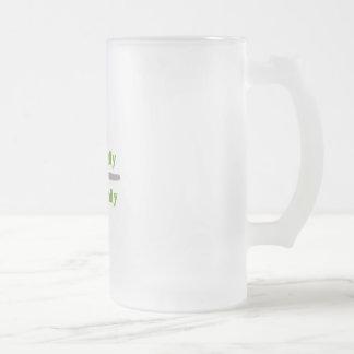 Coma localmente taza de cristal