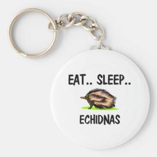Coma los ECHIDNAS del sueño Llaveros Personalizados