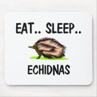 Coma los ECHIDNAS del sueño Tapete De Ratones