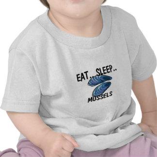 Coma los MEJILLONES del sueño Camisetas