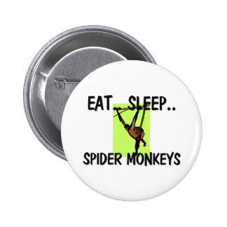 Coma los MONOS de ARAÑA del sueño Pins