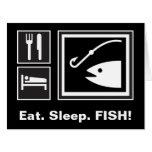 ¡Coma los PESCADOS del sueño! Felicitaciones