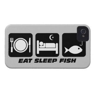 coma los pescados del sueño Case-Mate iPhone 4 protectores