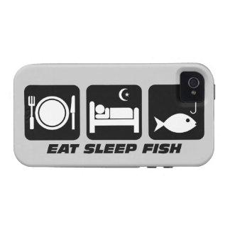 coma los pescados del sueño iPhone 4/4S carcasa