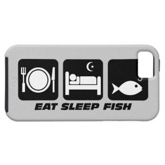 coma los pescados del sueño iPhone 5 carcasa
