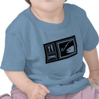 ¡Coma los PESCADOS del sueño! Camisetas