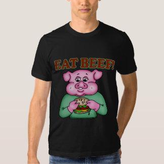 Coma los regalos divertidos de las camisetas de la remera
