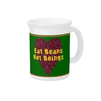 Coma los seres de las habas no jarras