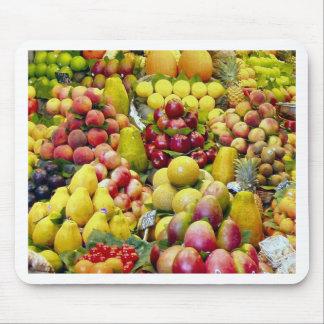 Coma más fruta alfombrilla de raton