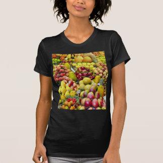 Coma más fruta camisetas