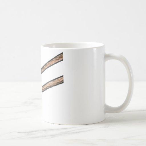 Coma más pollo taza de café