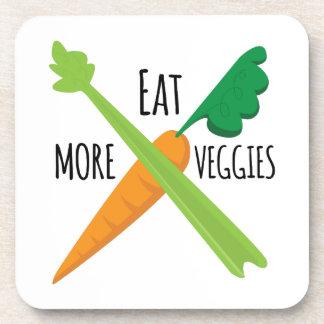 Coma más Veggies Posavasos