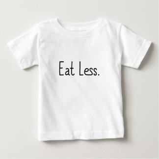 Coma menos playera de bebé