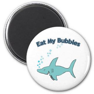 Coma mis burbujas imán para frigorífico