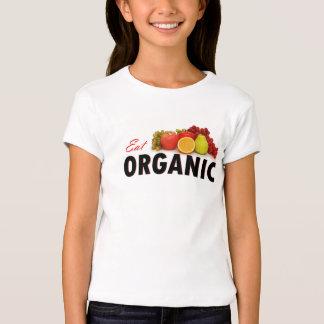 ¡Coma orgánico! Playera