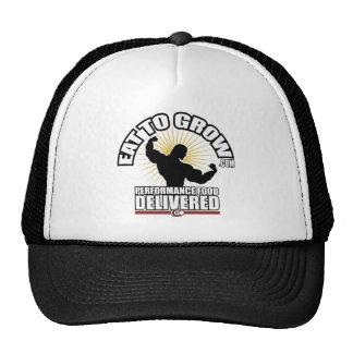 Coma para crecer el gorra del camionero