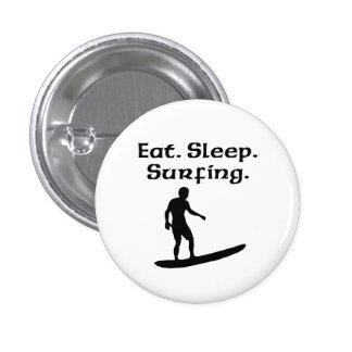 Coma practicar surf del sueño pins