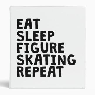 Coma repetición el sueño del patinaje artístico