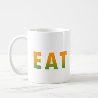 Coma sano taza