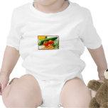 Coma Smart el | comen los Veggies sanos del amor Trajes De Bebé