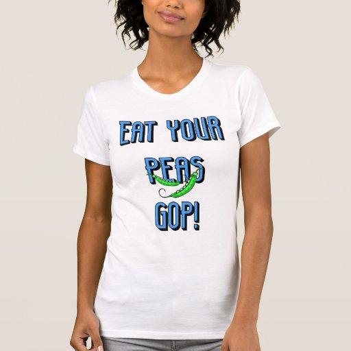coma su GOP de los guisantes Camiseta