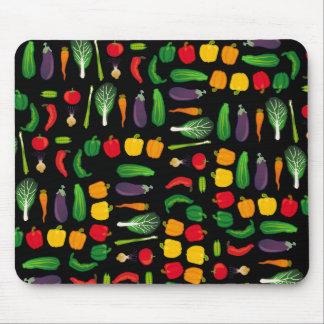 Coma su Multi-Verdura Mousepad de los Veggies Tapetes De Raton