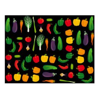 Coma su postal de la Multi-Verdura de los Veggies