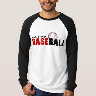 Coma. Sueño. Béisbol Poleras