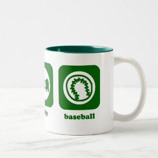 Coma. Sueño. Béisbol. Taza