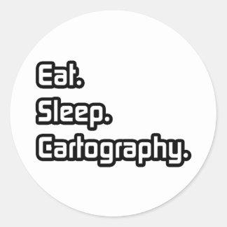 Coma Sueño Cartografía Etiquetas