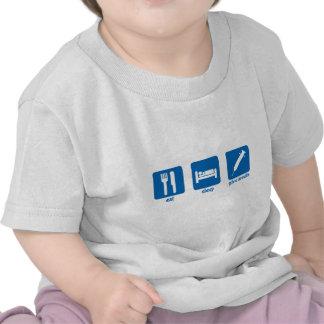 Coma - sueño - dan la insulina camiseta
