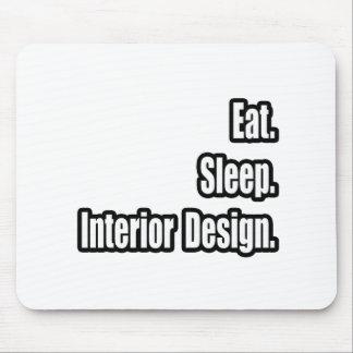 Coma Sueño Diseño interior Tapete De Ratones