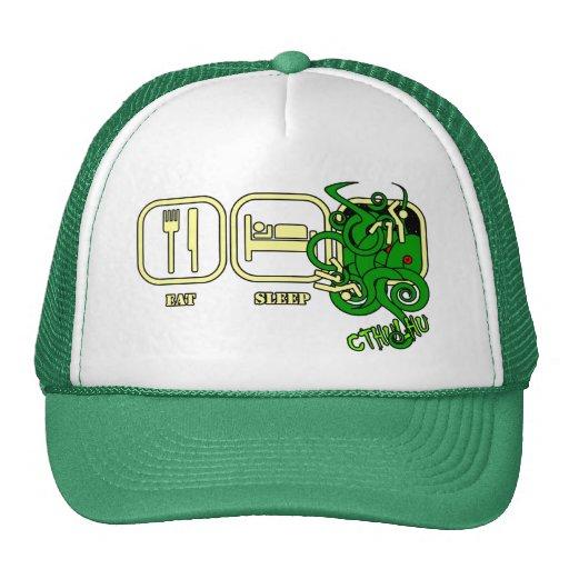 Coma - sueño - el gorra de Cthulhu