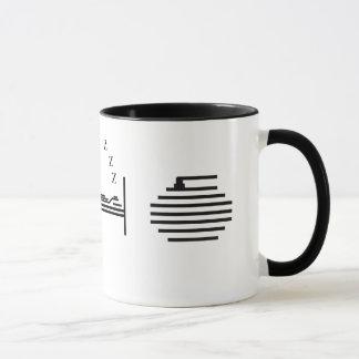Coma - sueño - encresparse taza