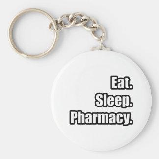 Coma Sueño Farmacia Llavero