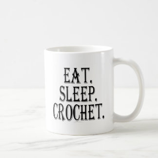 Coma. Sueño. Ganchillo. (taza) Taza Clásica