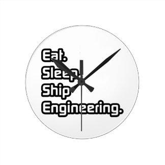Coma. Sueño. Ingeniería de la nave Relojes