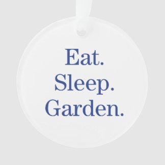 Coma. Sueño. Jardín