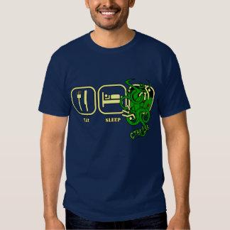 Coma - sueño - la camiseta de Cthulhu Playeras
