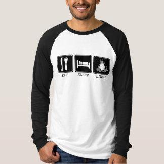 Coma. Sueño. Linux. Camisas