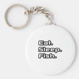 Coma. Sueño. Pescados Llavero Personalizado