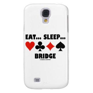 Coma… Sueño… Puente (juegos de la tarjeta del humo Funda Para Galaxy S4