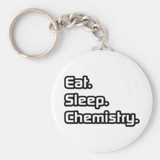Coma. Sueño. Química Llaveros Personalizados