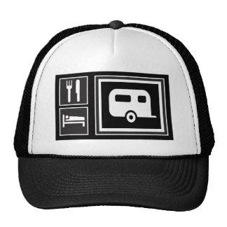 Coma. Sueño. ¡Rv! Gorras De Camionero
