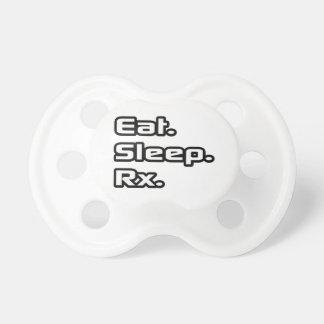 Coma. Sueño. Rx. Chupetes Para Bebes