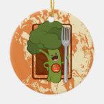 ¡Coma sus veggies! Adorno De Navidad