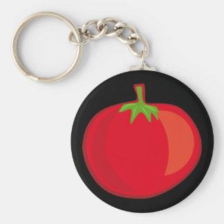 Coma sus Veggies el llavero del tomate