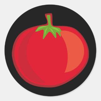 Coma sus Veggies el pegatina del tomate