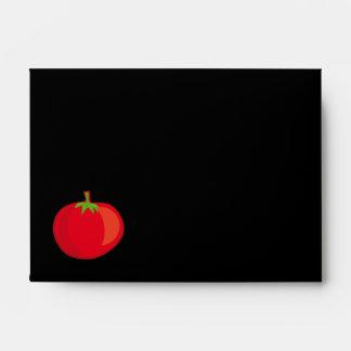 Coma sus Veggies el sobre del modelo A6 del tomate