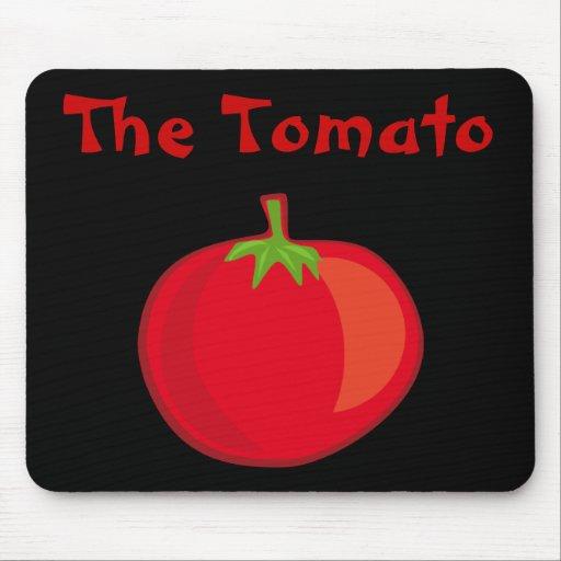 Coma sus Veggies el tomate Mousepad